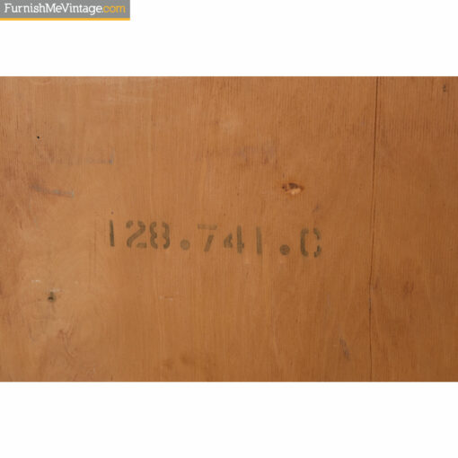 Robsjohn Gibbings Serial Number