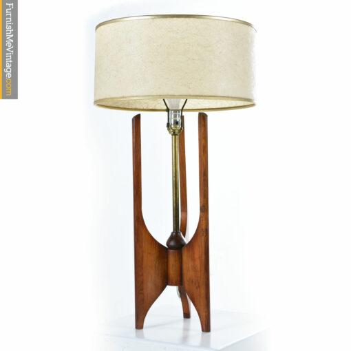 walnut modeline danish lamp