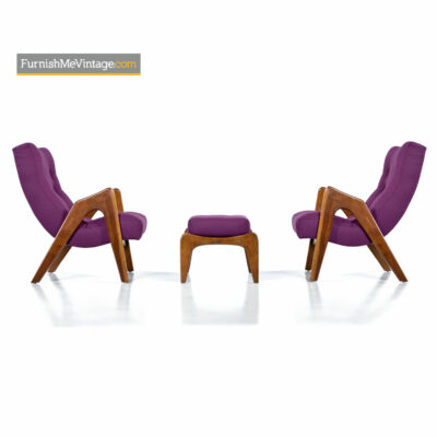 adrian pearsall scoop lounge chair