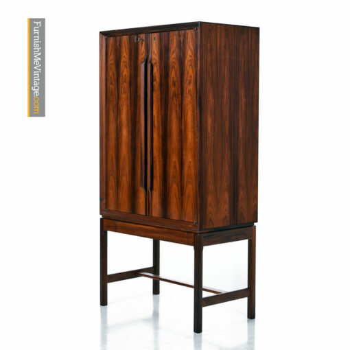 afdal rosewood liquor cabinet bar