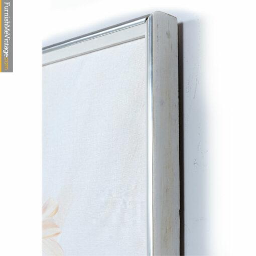 chrome white wood vintage-picture-frame