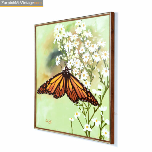 collins green butterfly painting