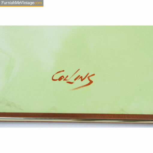 collins signature butterfly painting
