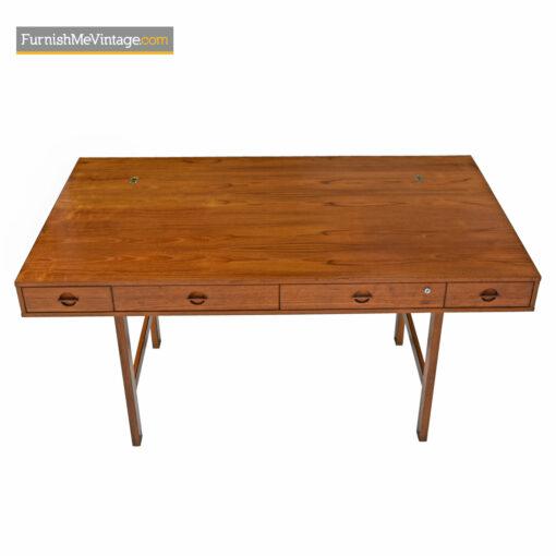 danish modern teak desk lovig
