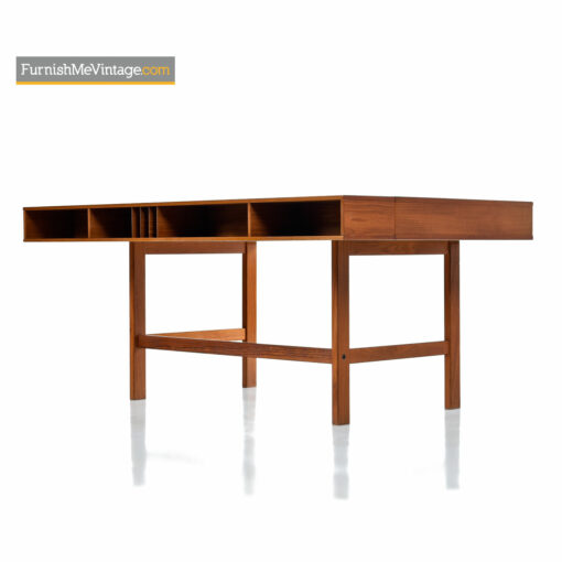 danish teak peter lovig desk