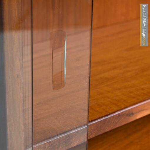 scandinavian modern teak bookcase
