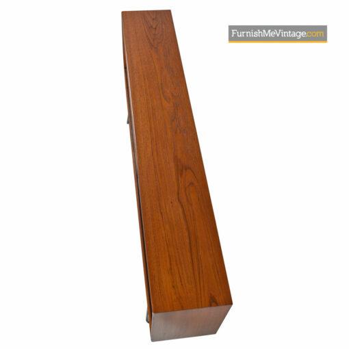 teak bookcase console cabinet denmark