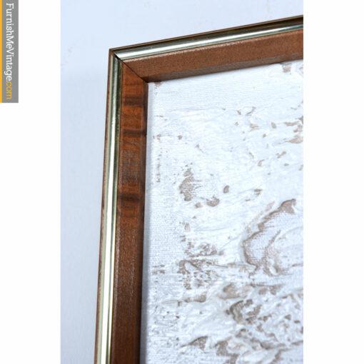walnut sofa painting frame