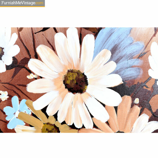 welch blue white flower painting