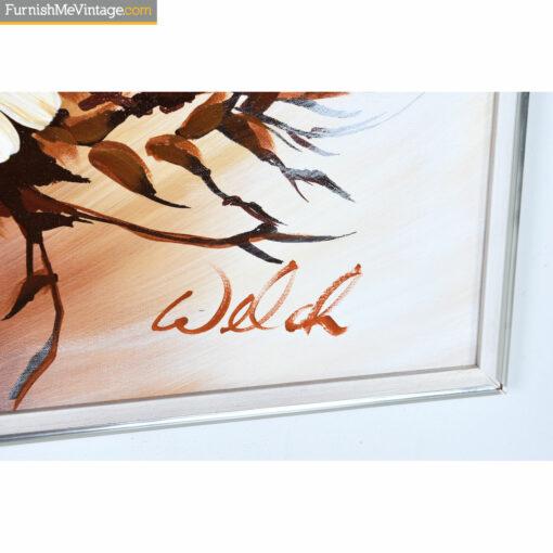 welch still life signature