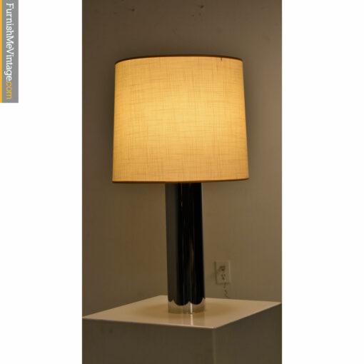 artemide table lamp chrome