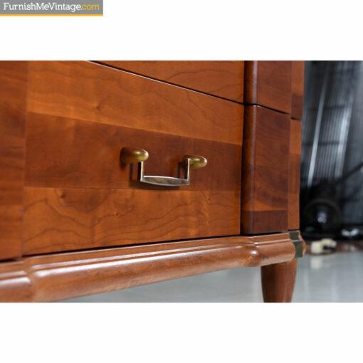brass bullet shape dresser-handle