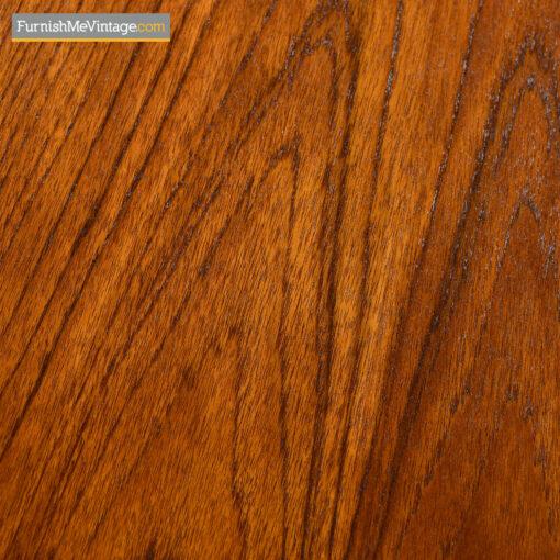 danish modern long teak sideboard