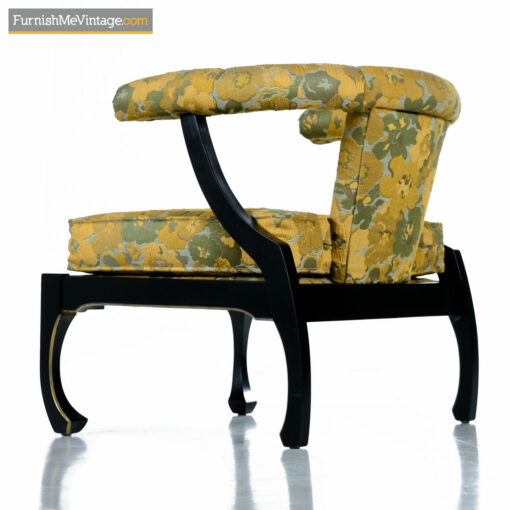 ming chair gold lacquer asian-modern-chairs
