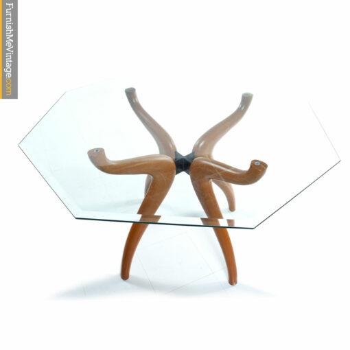 glass modern table