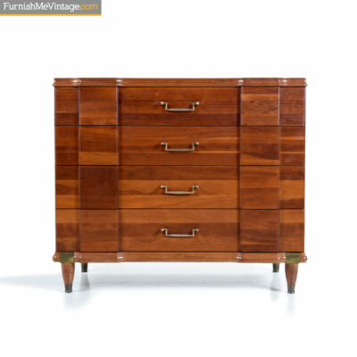 hickory mfg bachelors chest dresser