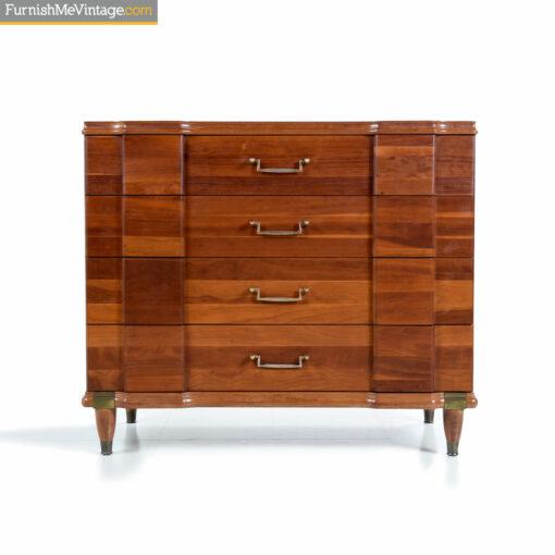hickory mfg bachelors chest dresser