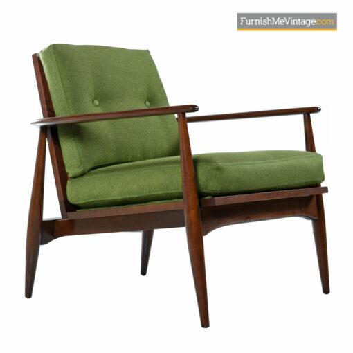 lounge chairs walnut mid century