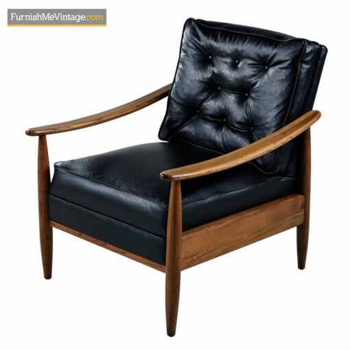mid century modern beech lounge chairs