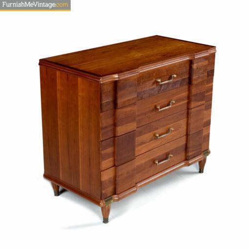 retro hickory mfg chest of drawers