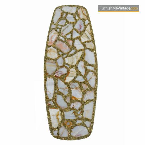 Arturo Pani glitter resin coffee table