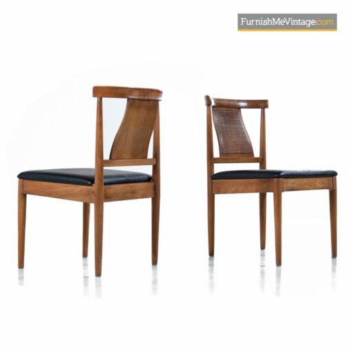 modern walnut dining chairs