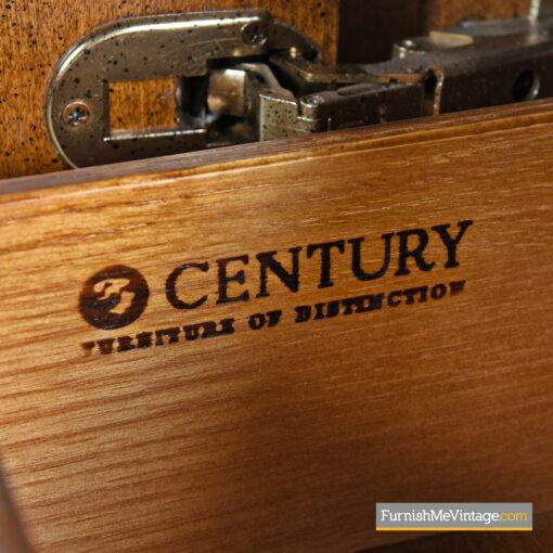 burl brass century credenza