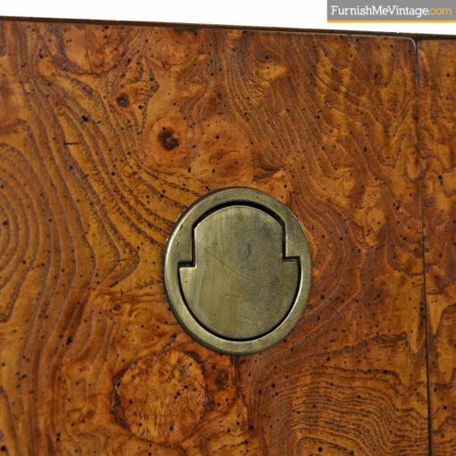 burl brass sideboard by century furniture