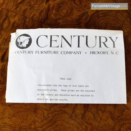 century furniture company credenza