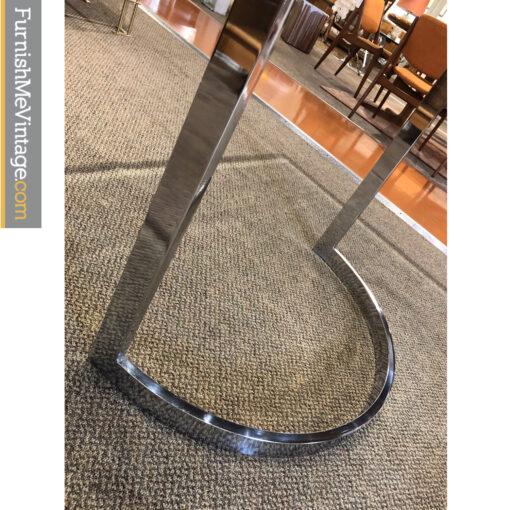 chrome table base