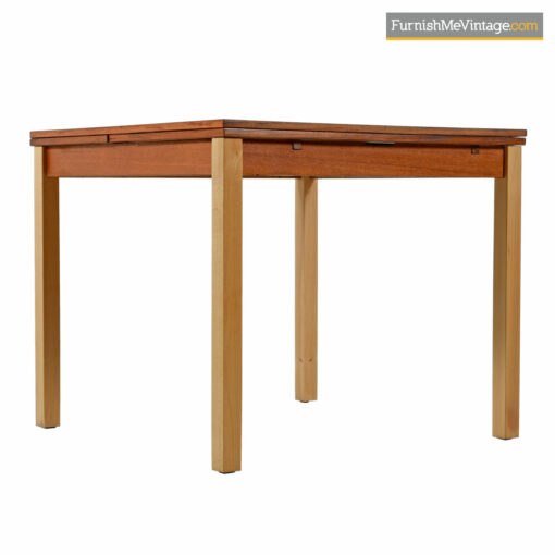 danish teak ansager expanding table