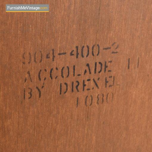 Drexel accolade tall dresser