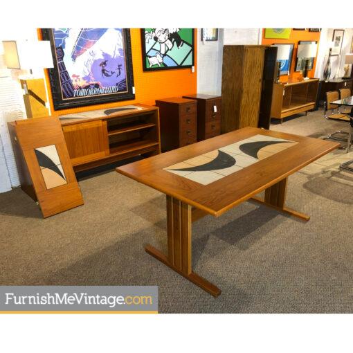 gangso mobler teak tile table