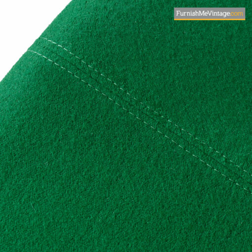green wool egg chair jacobsen