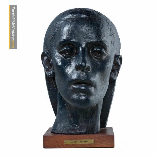 martha graham bust sculpture