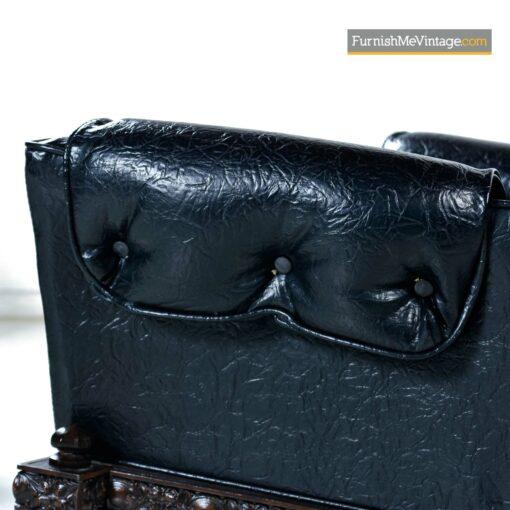 mid century gothic modern lounge chair