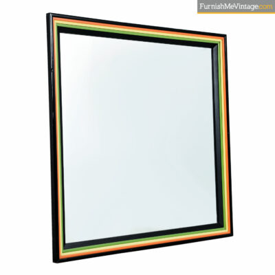 rainbow retro mirror