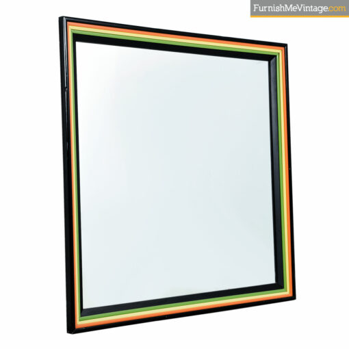 rainbow retro mirror