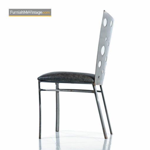 steel dining chairs johnston casuals
