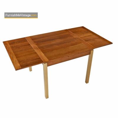teak beech danish dining table