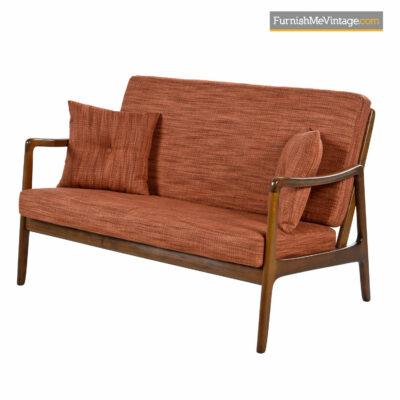 vintage modern settee sofa
