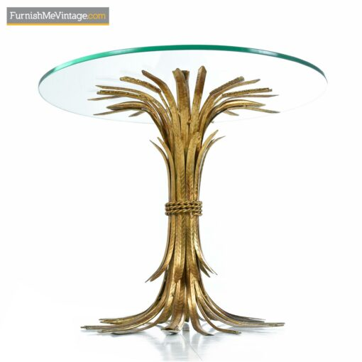 Brass Wheat Sheaf cocktail table