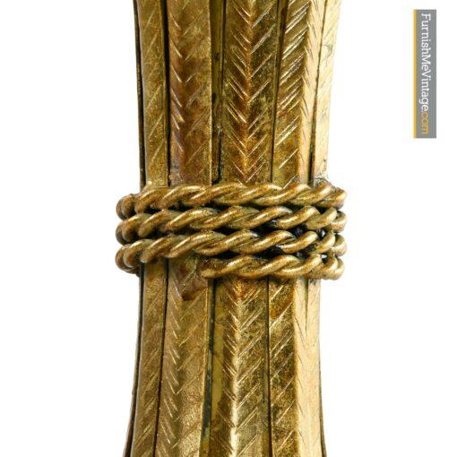 Brass Wheat Sheaf table