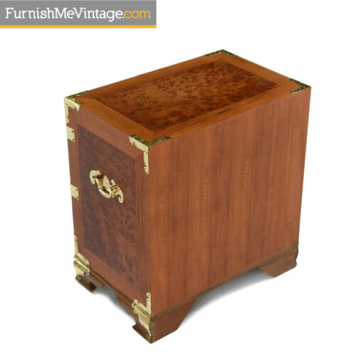 chinese gold teak campaign chest