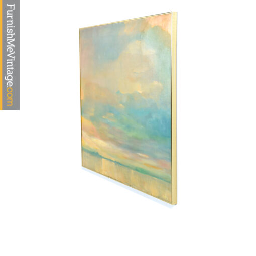 colorfield sunset cloud painting