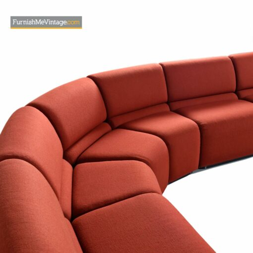 curved modern jack cartwright sofa