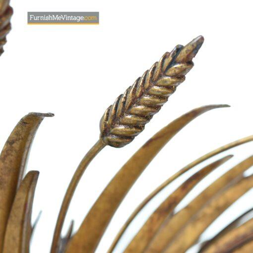 gold wheat sheaf coffee table