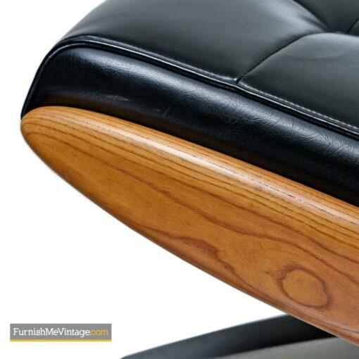 heywood wakefield lounge chair ottoman