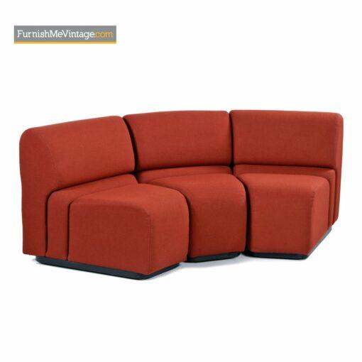 knoll jack cartwright sectional sofa