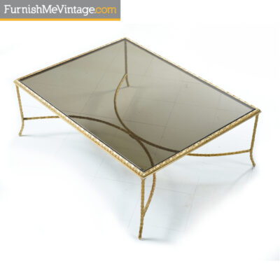 mastercraft grecian gilt coffee table